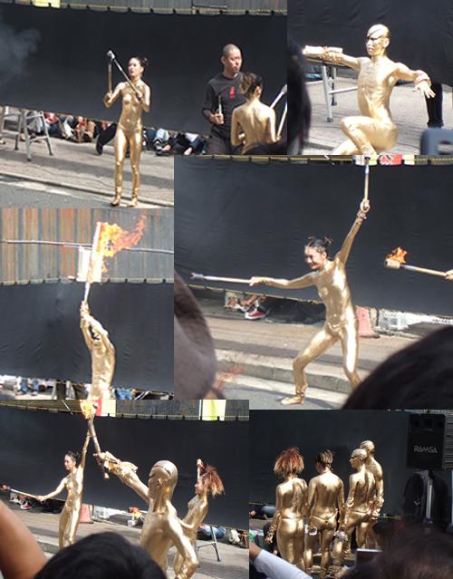金粉ショー