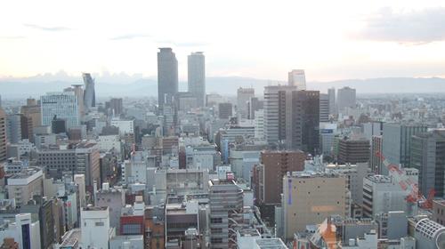 名古屋の街なみ